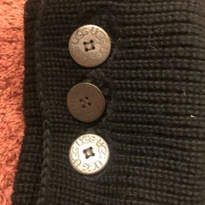 UGG Shoes - Authentic CLASSIC CARDY SOCK BOOTS (black)